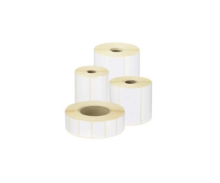 Etiqueta adhesivas blancas