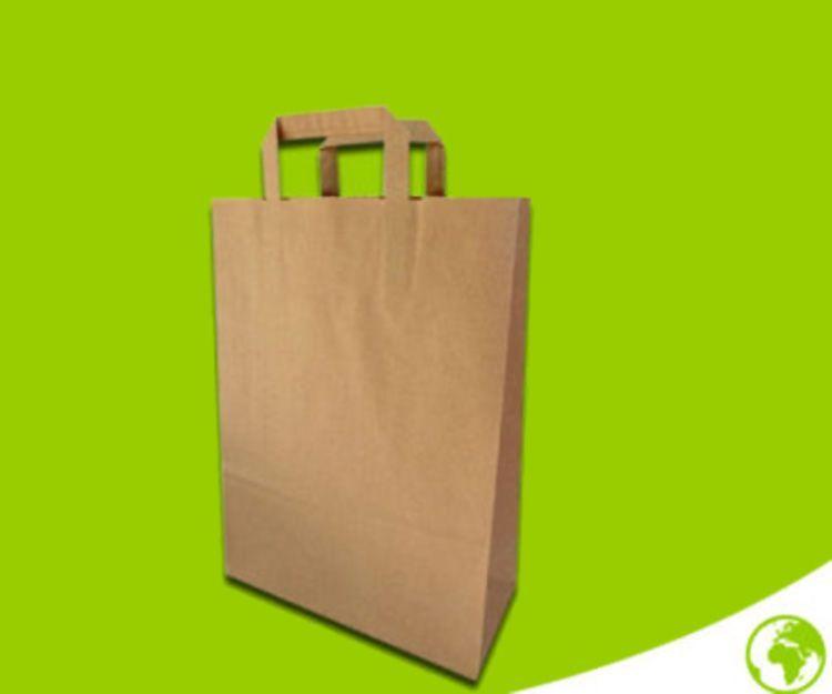 Bolsas de papel con asas: Productos de Monllau Hermanos