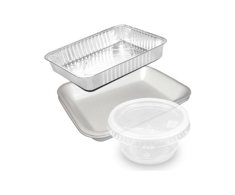 Envases de plástico y aluminio