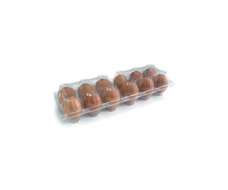 Estuche de plástico para 12 huevos