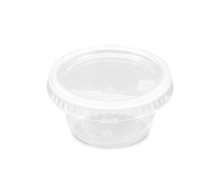 Tarrina de plástico con tapa