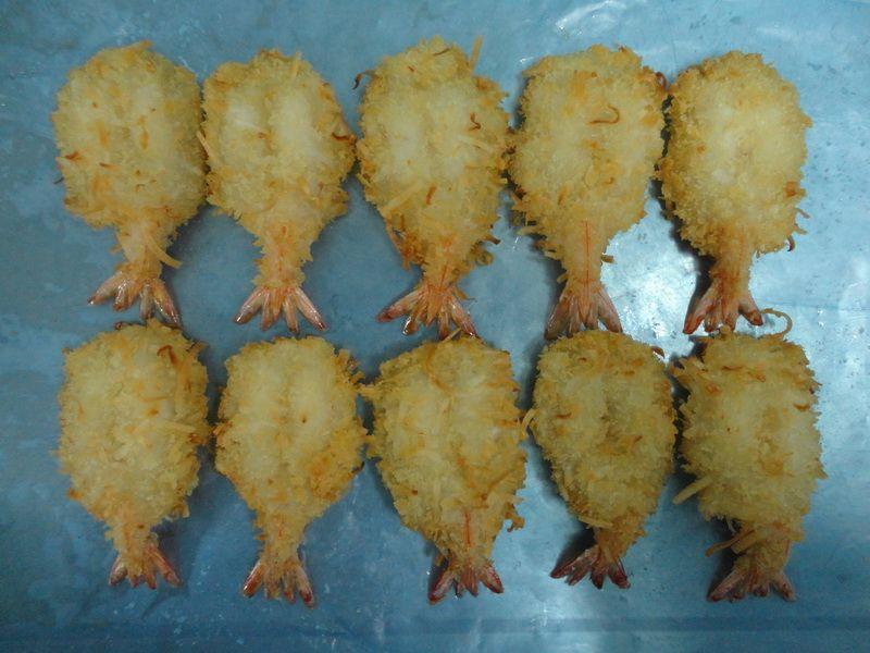 Langostinos precocidos empanizados en Coco: Catálogo de Govifish