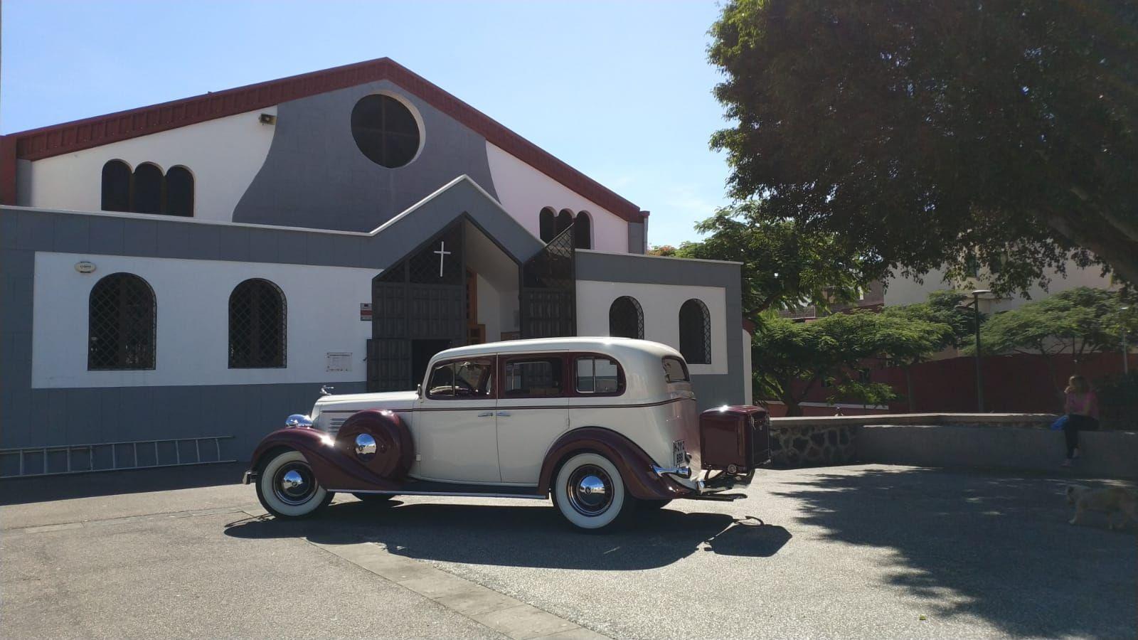 Alquiler de Buick 1934 con conductor en Tenerife