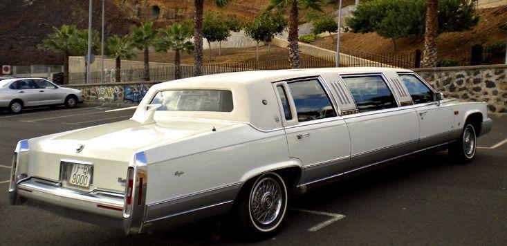 Alquiler de Limusinas  Brougham Cadillac con conductor en Tenerife