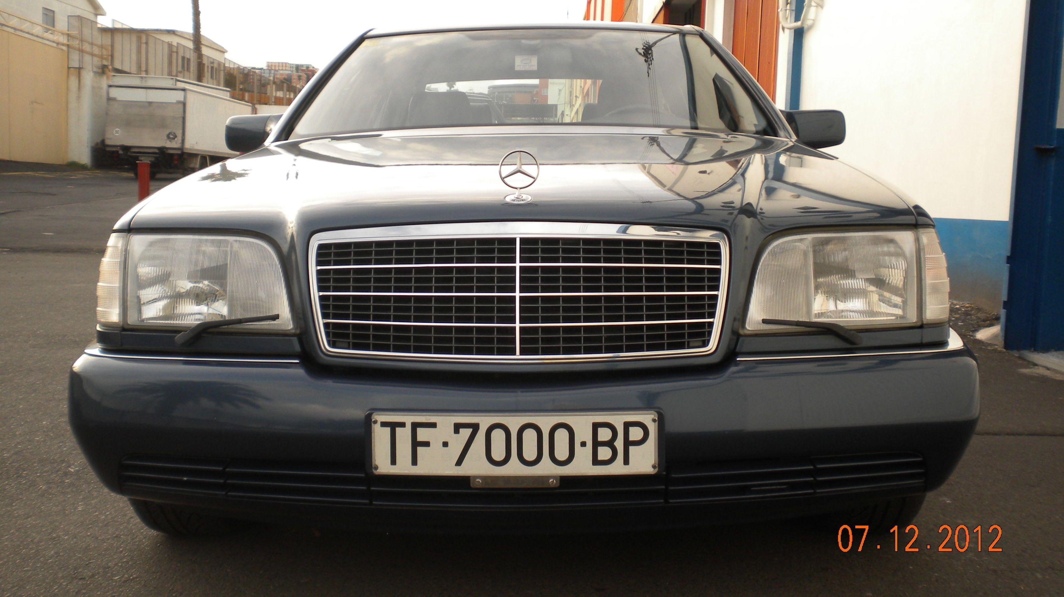 Alquiler de Mercedes 600 SEL con conductor en Tenerife