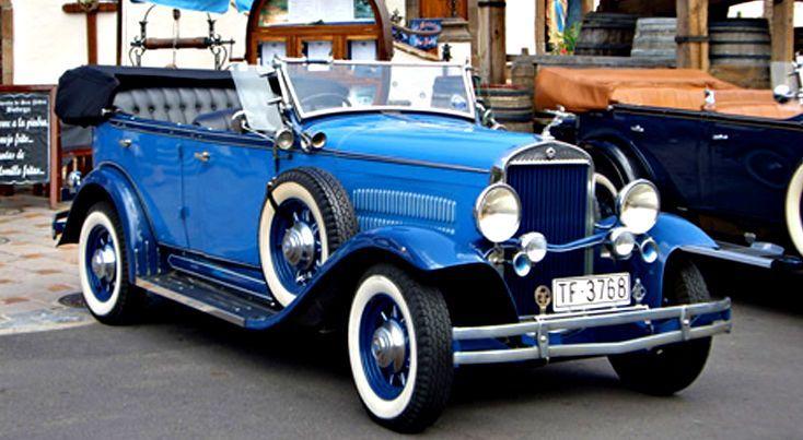 Alquiler de Essex 1930 con conductor en Tenerife