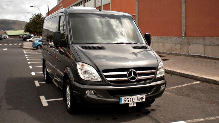 Alquiler de Minivans  Mercedes Benz Sprinter con conductor en Tenerife