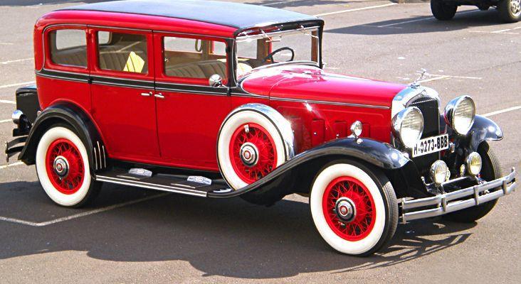 Alquiler de Marmon 1931 con conductor en Tenerife