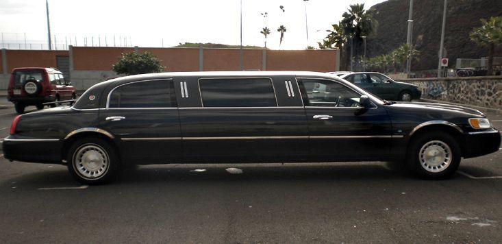 Alquiler de Lincoln Limousine Town Car con conductor en Tenerife
