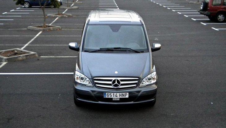 Alquiler de Minivans con conductor en Tenerife