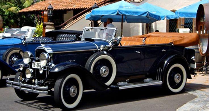 Alquiler de Buick 1930 con conductor en Tenerife