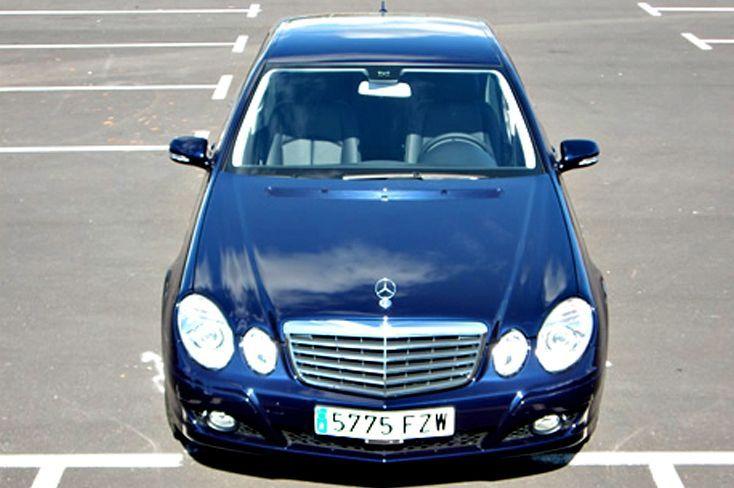 Alquiler de Mercedes Benz Clase E con conductor en Tenerife