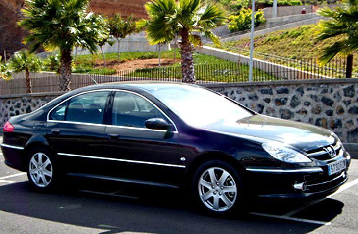 Alquiler de Peugeot 607 con conductor en Tenerife