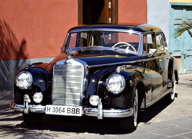 Alquiler de Mercedes Benz 1956 con conductor en Tenerife
