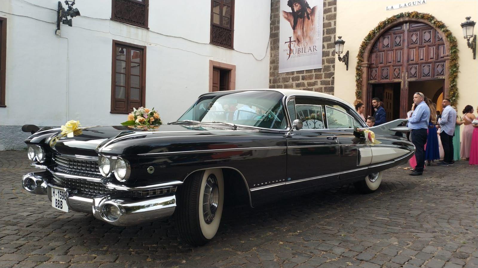 Alquiler de Cadillac Fleetwood 1959 con conductor en Tenerife