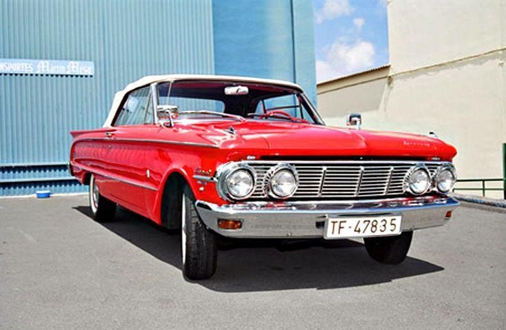 Alquiler de Ford Mercury 1962 con conductor en Tenerife