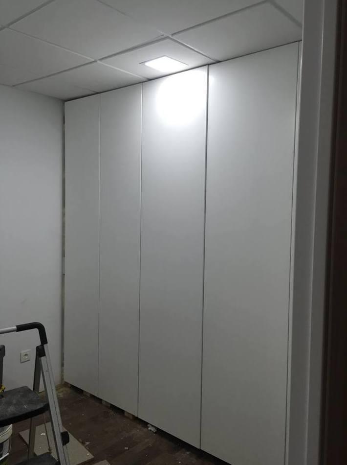 Realización de armario para la plancha