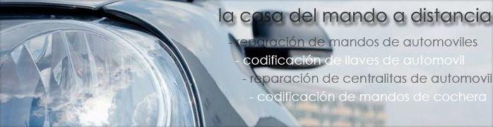 reparacion de mandos a distancia coches en Ciudad Real