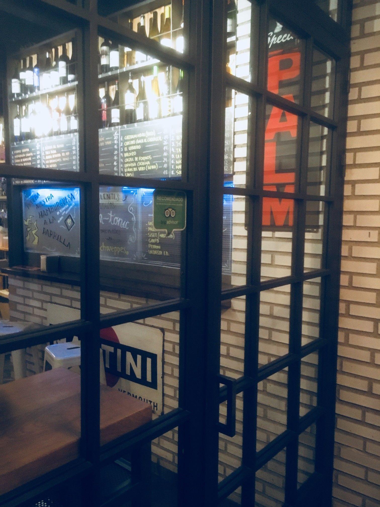 La entrada a La Barbería