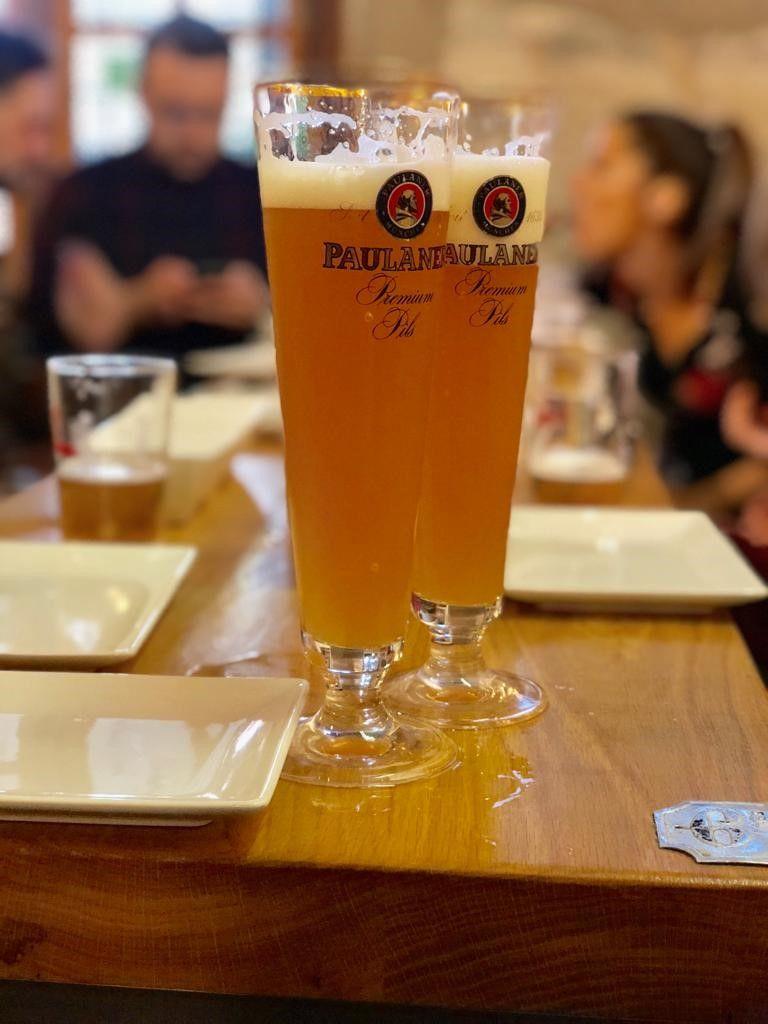 Cerveza Paulaner, una de las favoritas de nuestros clientes