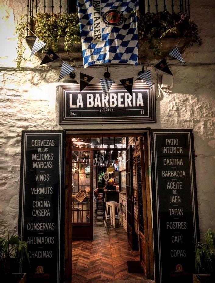 Puerta de la calle de La Barbería