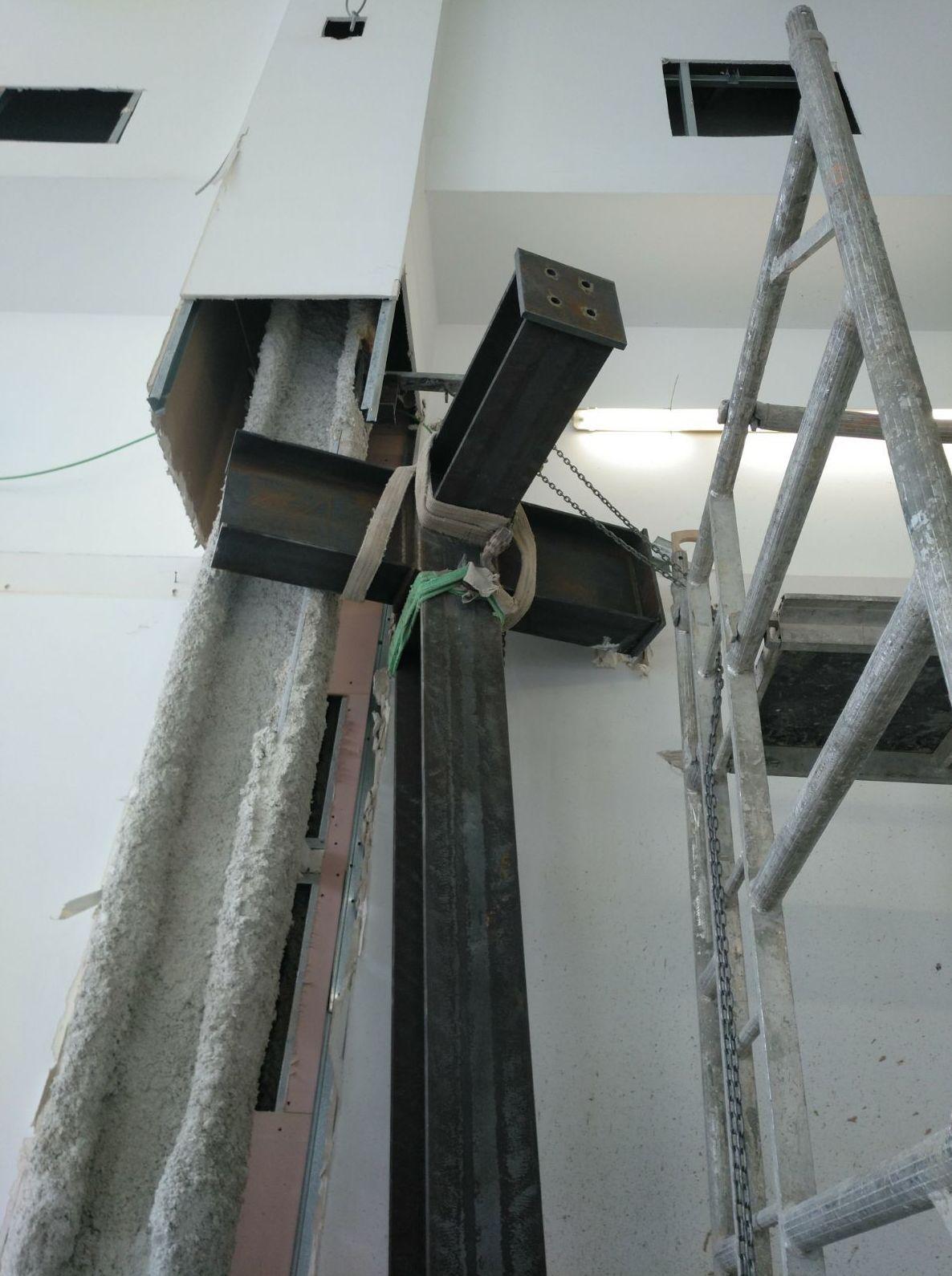Reestructurando con perfilería metálica. Madrid