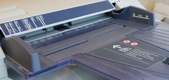 Distribución de fotocopiadoras en Álava