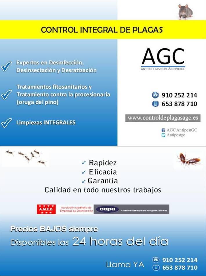 AGC-Control de Plagas