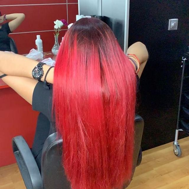 Pon color en tu pelo