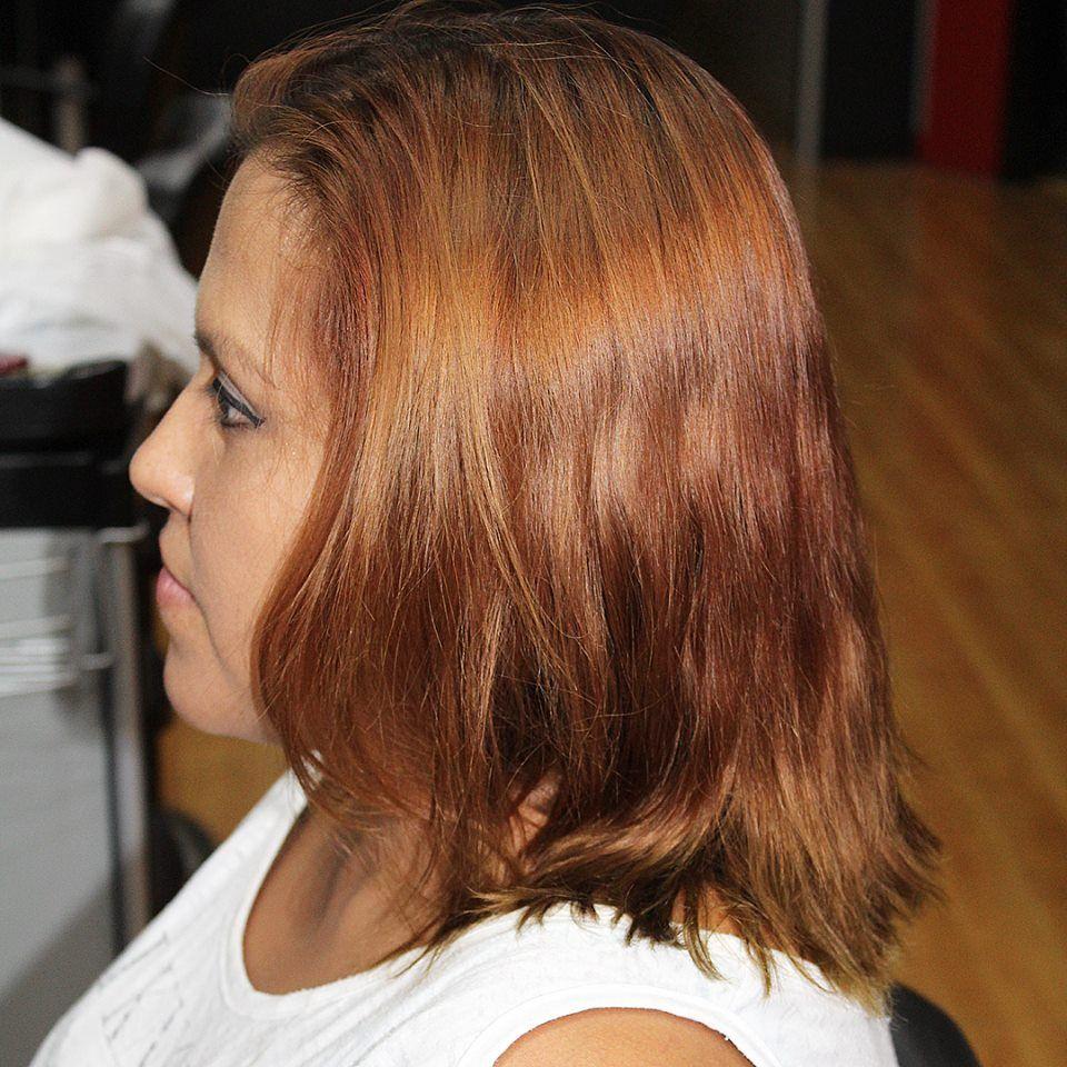 Luce un pelo bonito