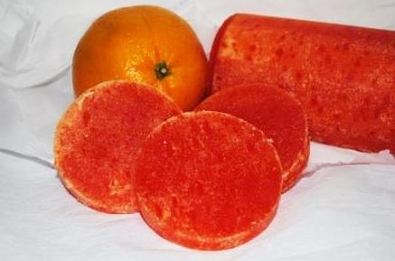Esponjas de Naranja