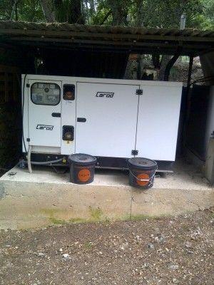 Instalación de generadores andratx