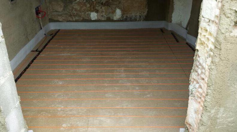 Montaje e instalación de sistemas de suelo radiante