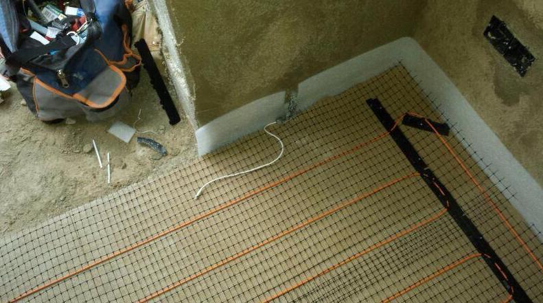 Instalación de suelo radiante