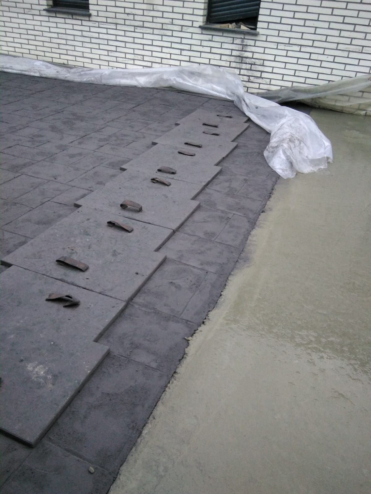 Pavimento impreso enSalamanca