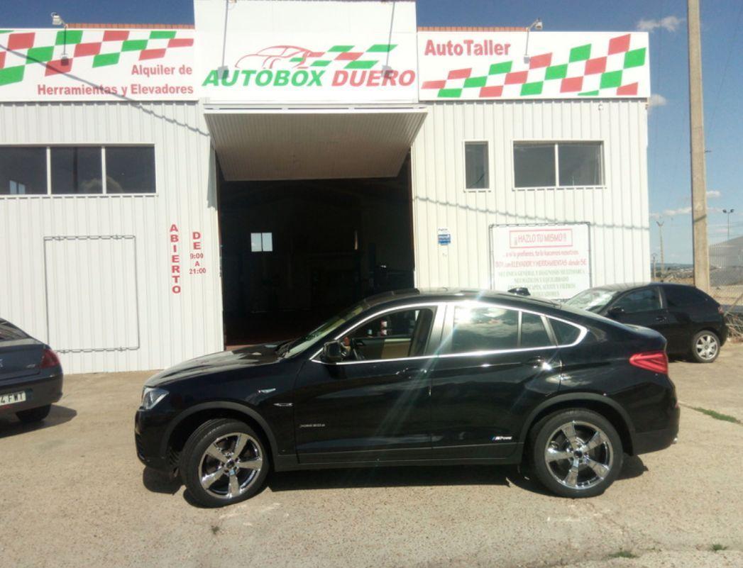 Taller de coches en Zamora