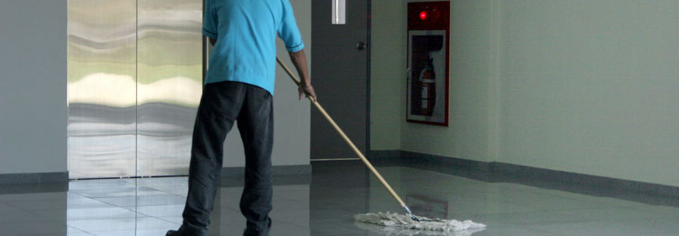Servicio de limpieza de edificios