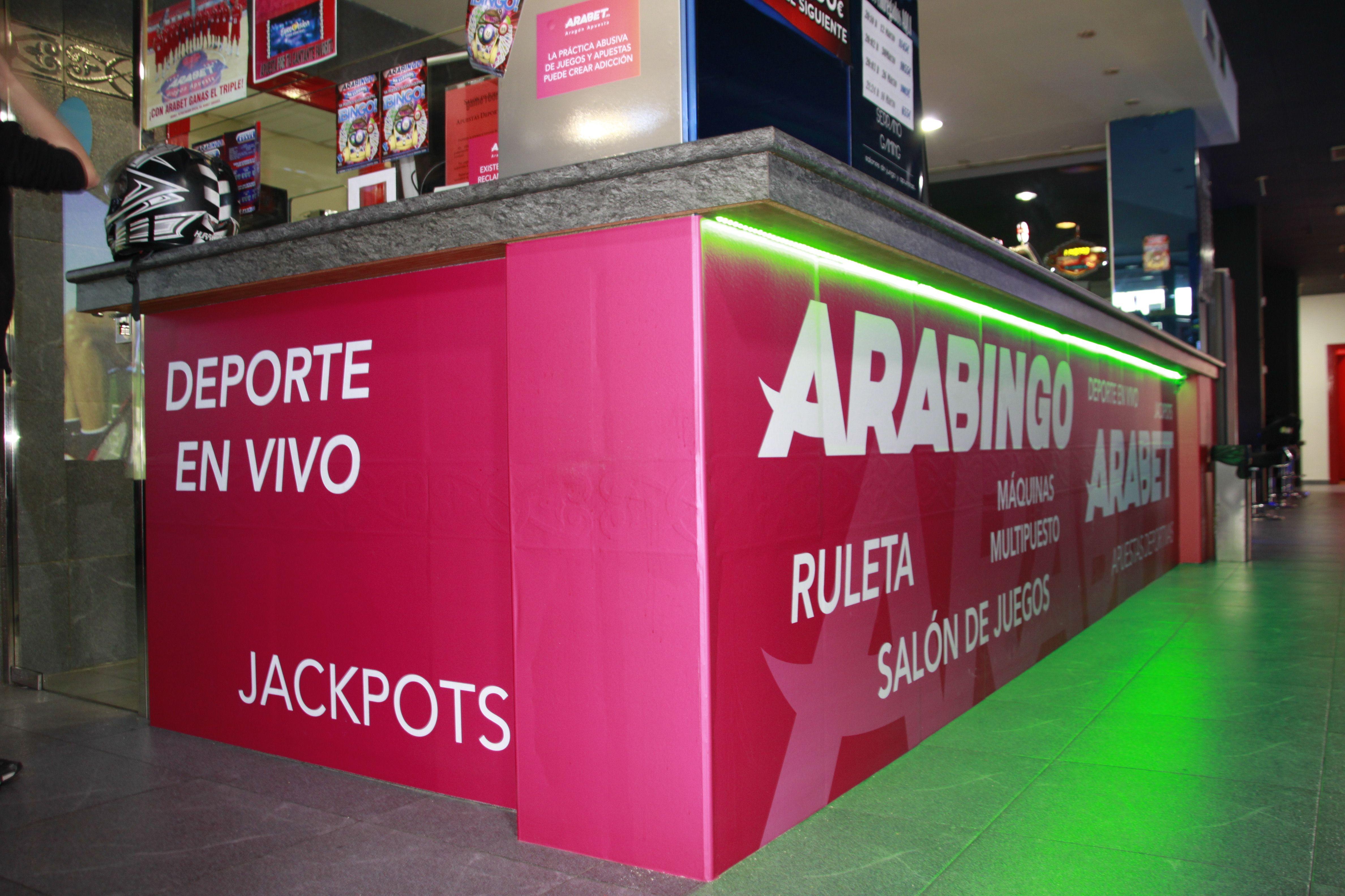 Máquinas recreativas en Zaragoza