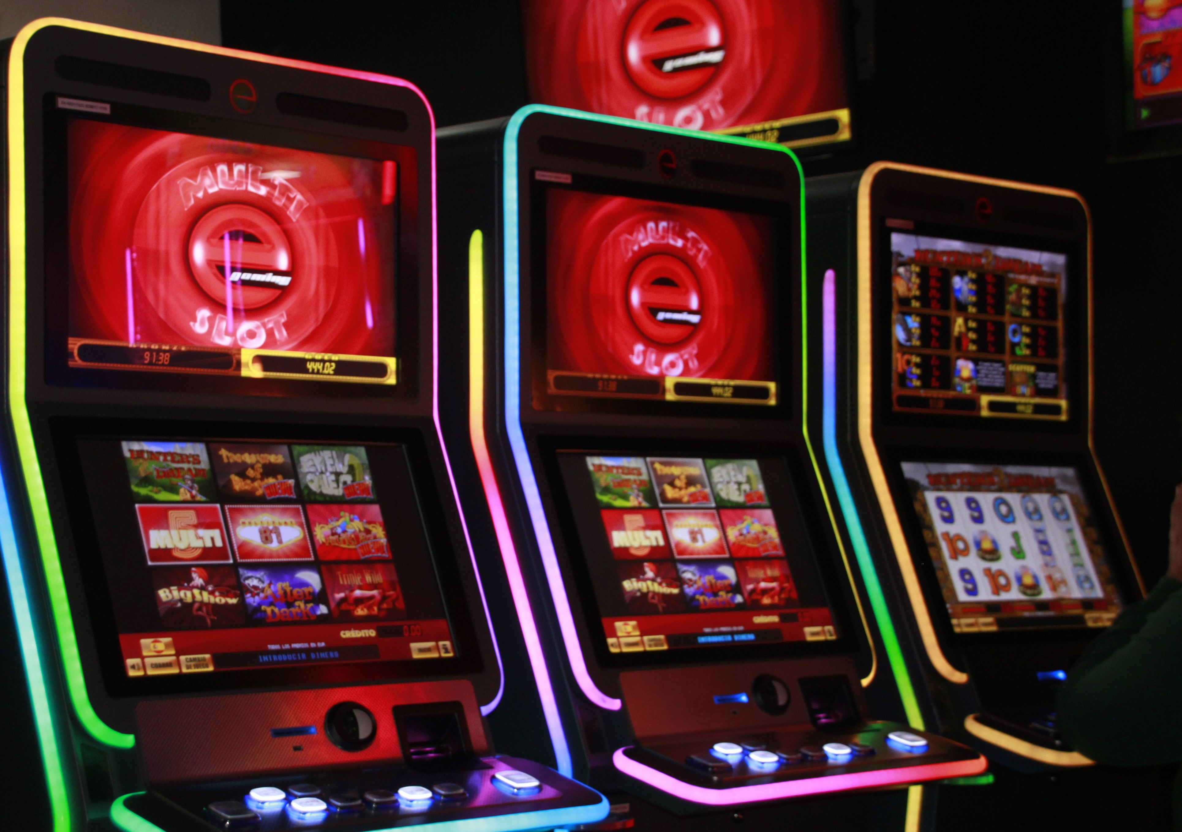 Instalación de máquinas recreativas en Zaragoza