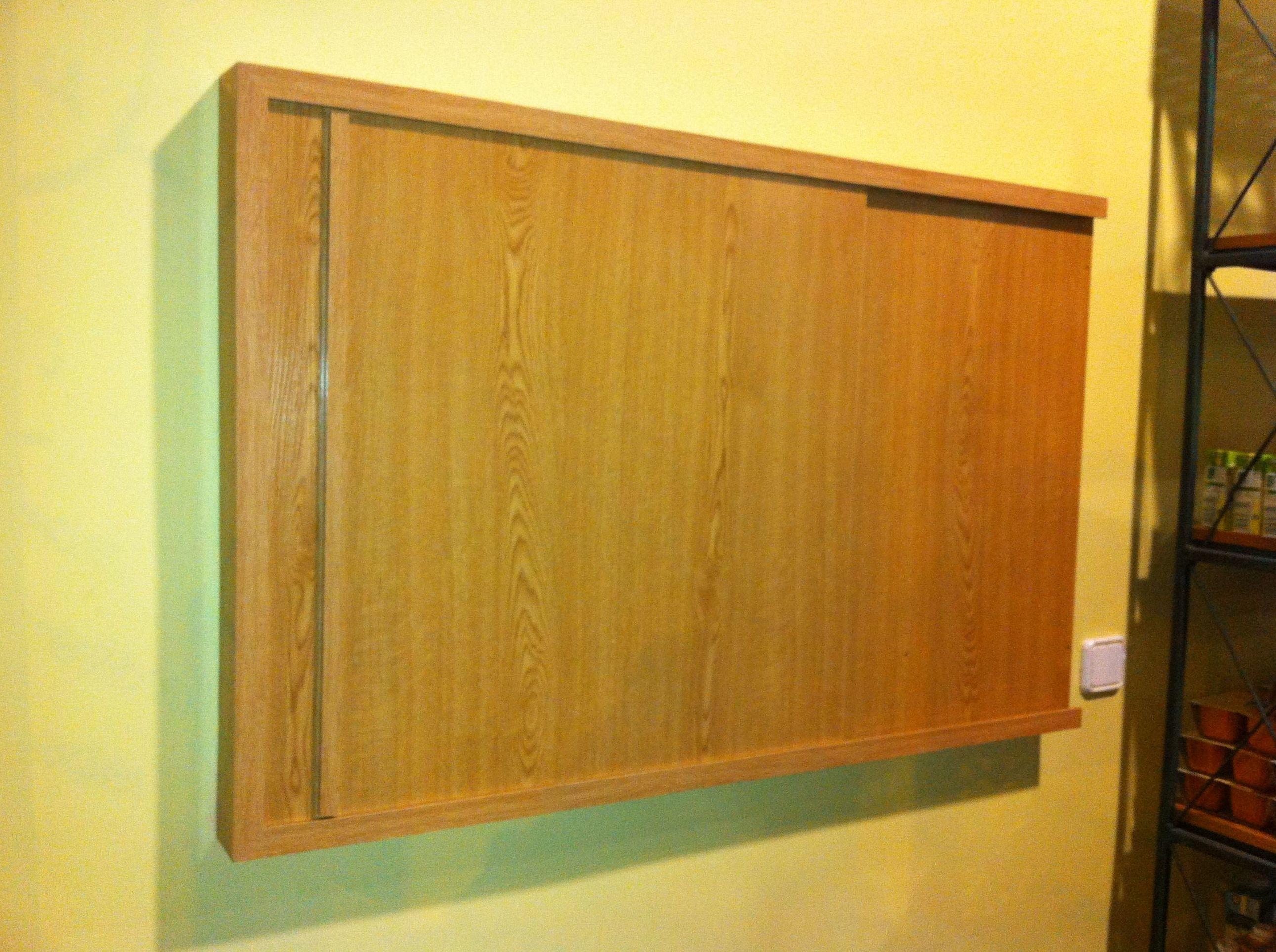 Armario en madera para cuadro eléctrico
