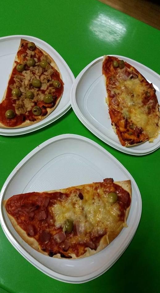 ¡Hoy nos hemos convertido en pizzeros!