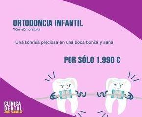 Ortodoncia infantil: Tratamientos de Urgencias dentales Clínica  Ángel Samaniego