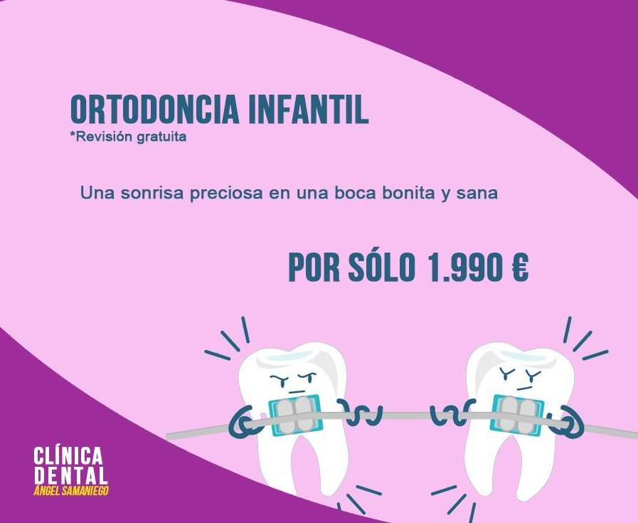 OFERTA ORTODONCIA INFANTIL
