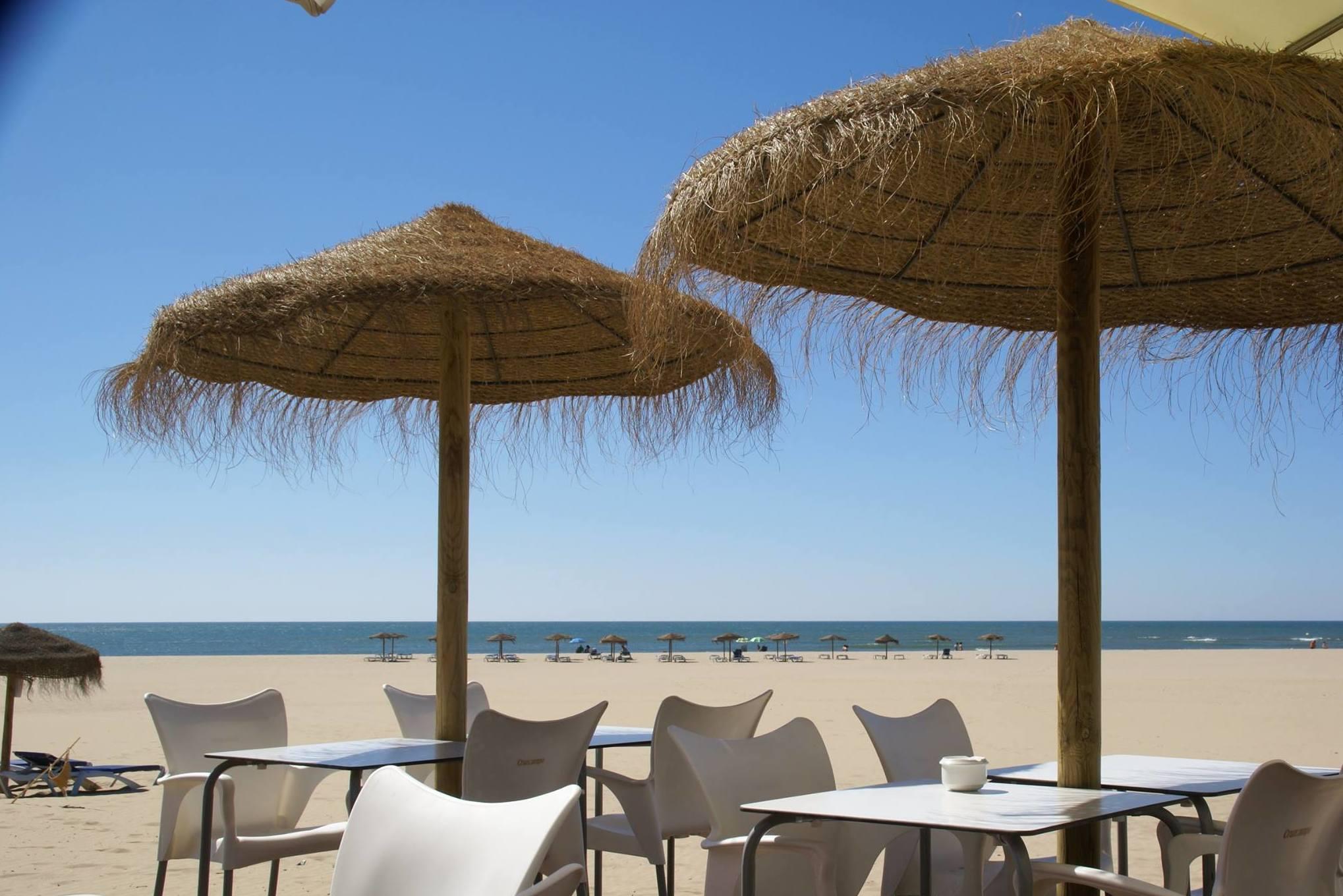 Chiringuito Bonbadill  en Isla Canela, Ayamonte (Huelva)
