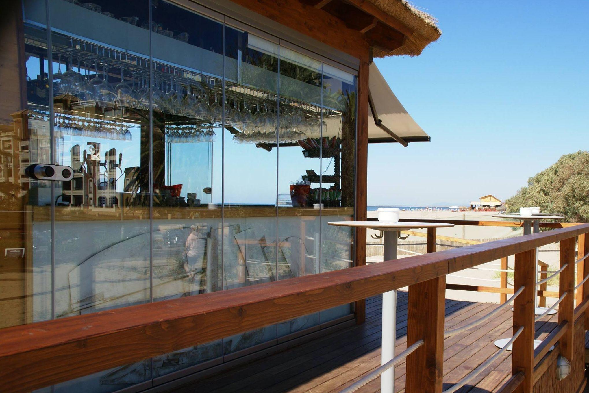 Mariscos de la costa en Isla Canela, Ayamonte (Huelva)