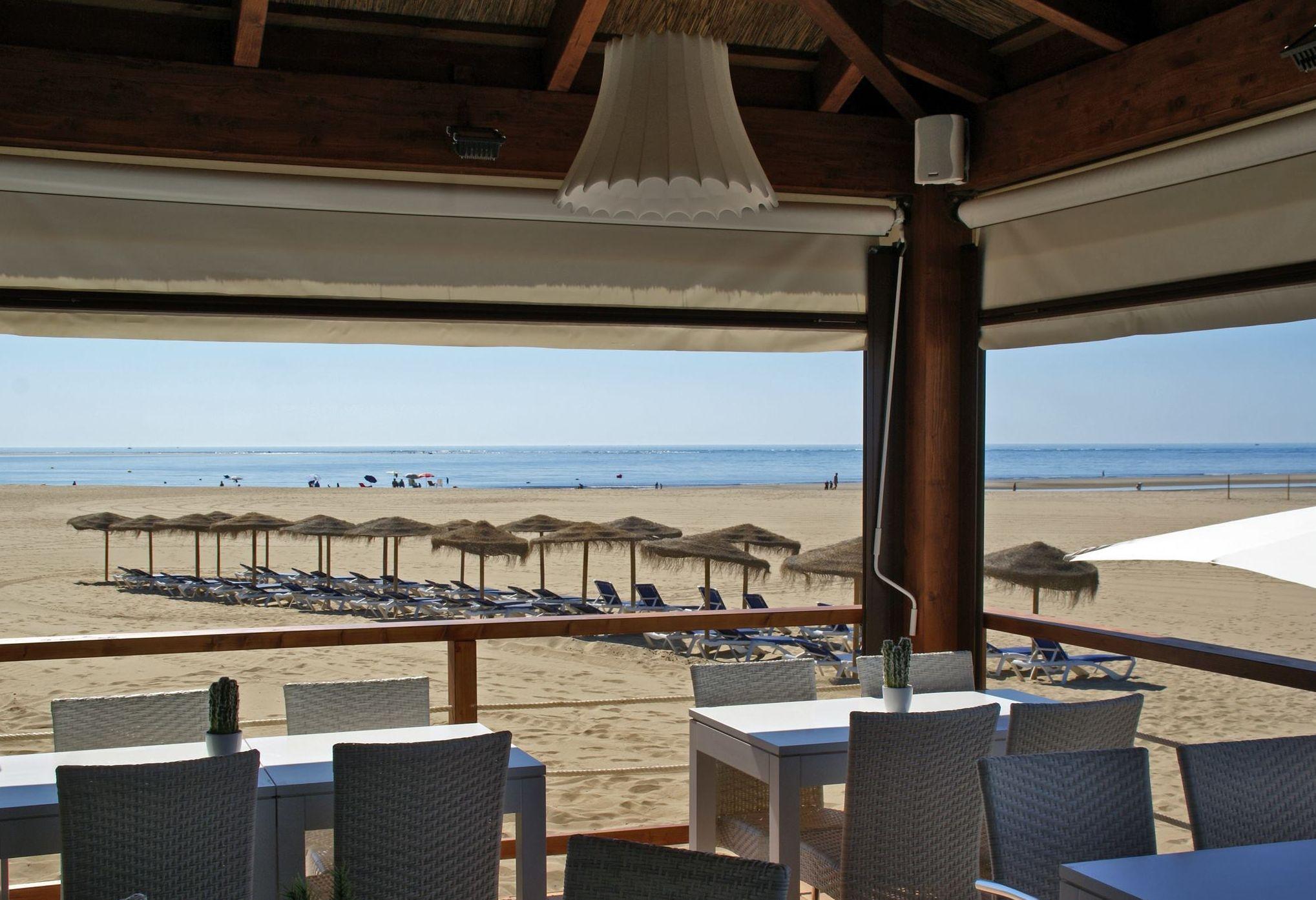 Comer en Isla Canela, Ayamonte (Huelva)