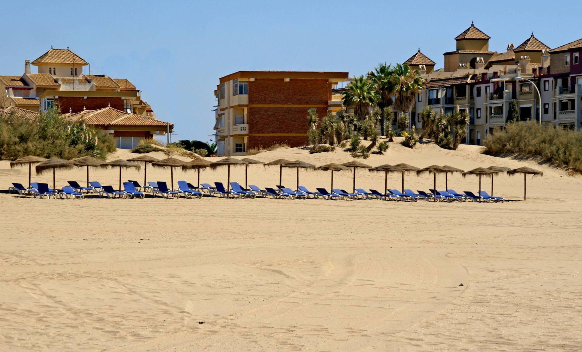 Mariscos del día en Isla Canela, Ayamonte (Huelva)