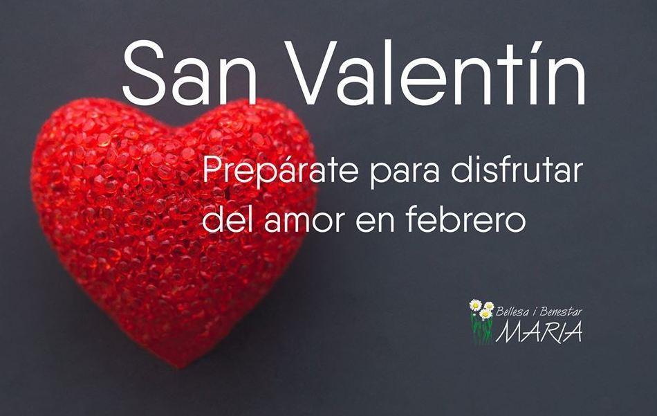 """""""San Valentín en Bellesa i Benestar María"""""""