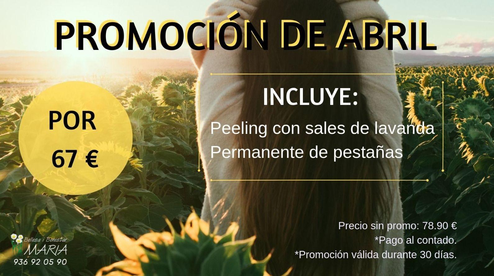 """Promo de Abril"""