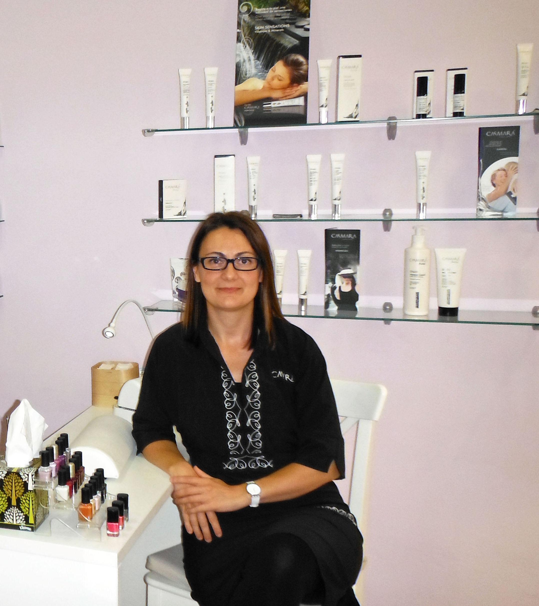 Esteticista y Directora de Bellesa i Benestar Maria -Maria Serrano